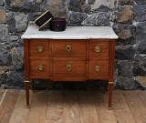 100-65 - Period French Walnut Transitional Commode