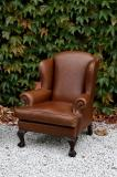 Leather Wing Chairs