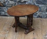 100-87 - Small Revolving Drop Side Gate Leg Table