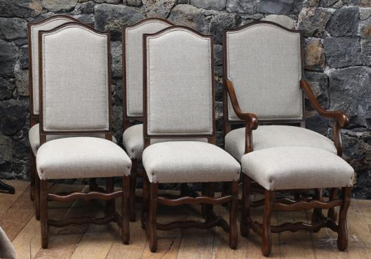 100-95 - Os de Moutons - Antique French Dining chairs