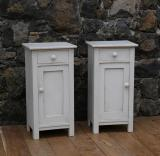 101-30 - Pair of Painted Swedish Bedsides