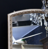 Attractive Full Length 19th Century Arched Topped Mirror