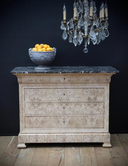 101-61 - Bleached Louis Philippe 19th Century French Commode