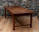 101-71 - French Oak Provincial Dining Table