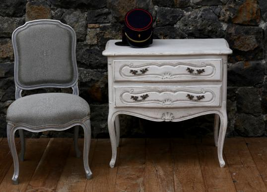 Small 2 Drawer Side Table or Commode