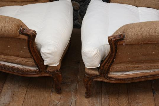 Pair of Stunning Louis XV Armchairs