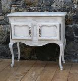 101-97 - French Louis XIV Two Door Cabinet