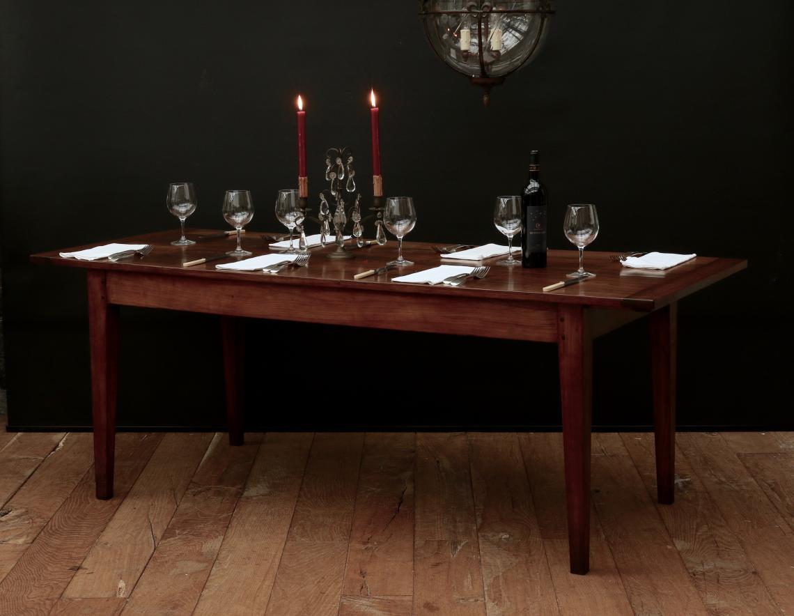 John stephens 18th century cherrywood french provincial dining table 18th century cherrywood french provincial dining table workwithnaturefo