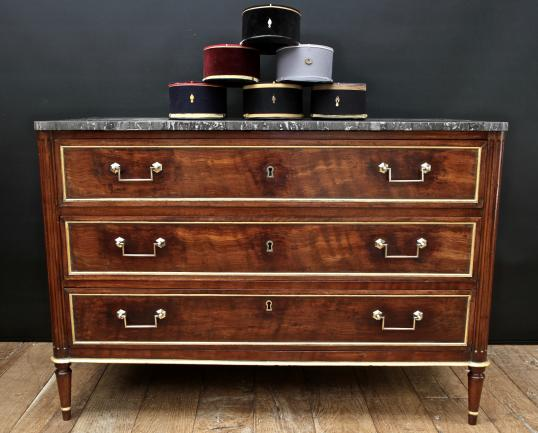 102-25 - Directoire Commode Marble Top