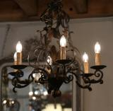 102-30 - French Metal Chandelier