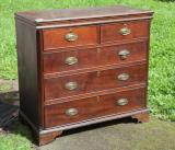 77-58 - Georgian Chest of Drawers