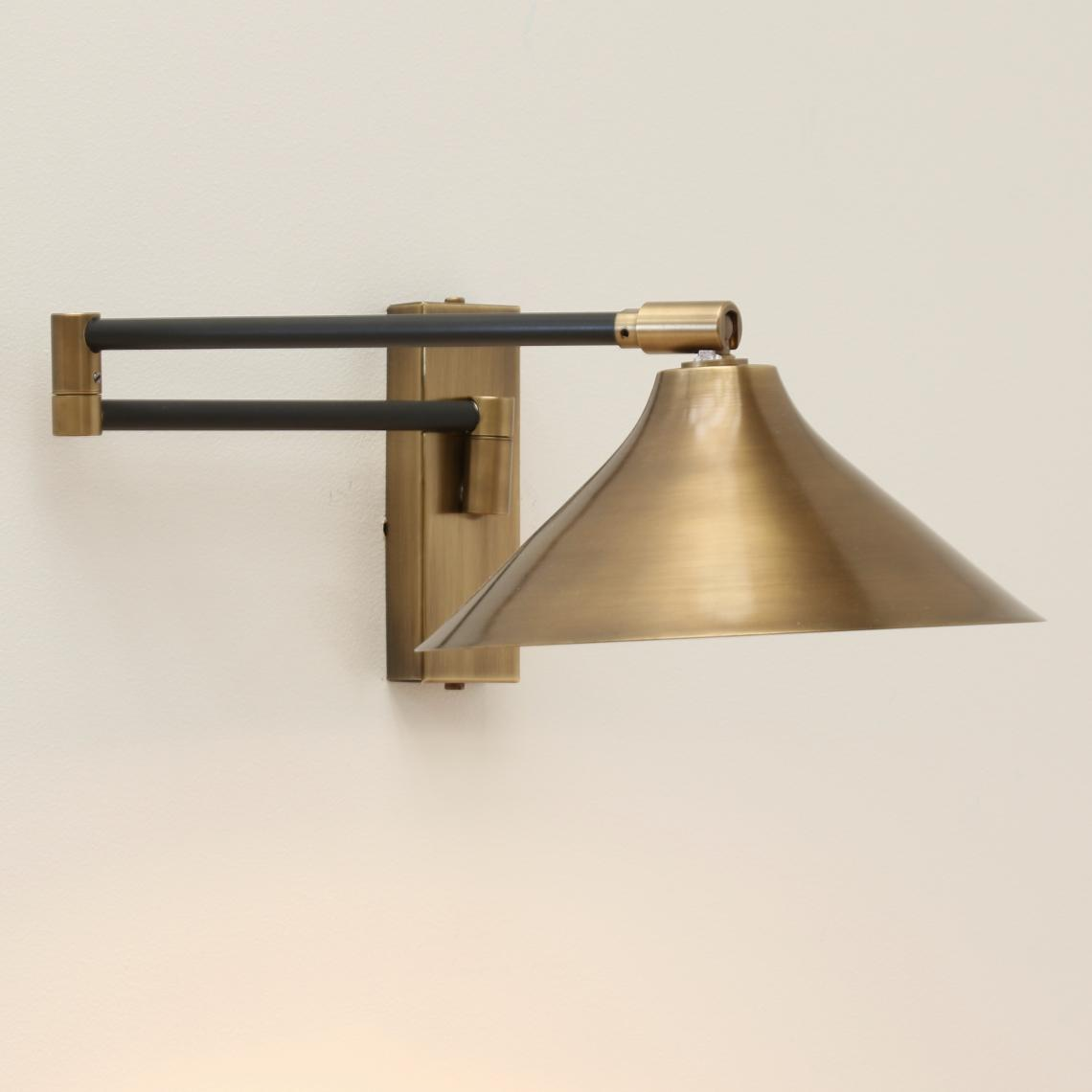 102-43 - French Wall Light // Flared Shade