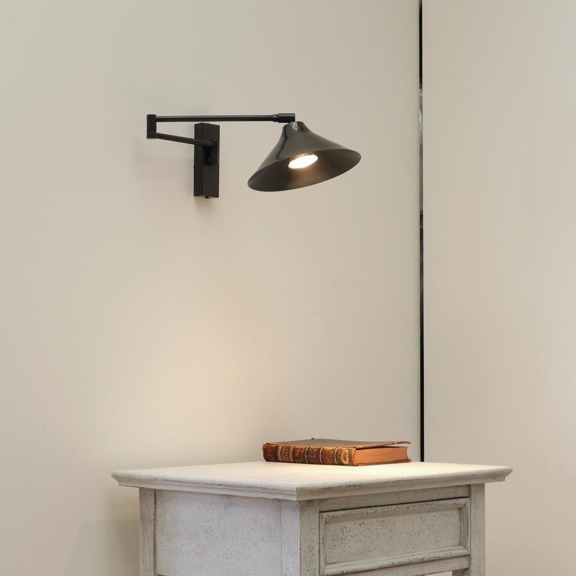 102-45 - French Wall Light // Flared Shade