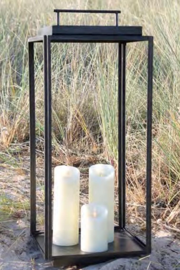 John Stephens Outdoor Floor Lantern
