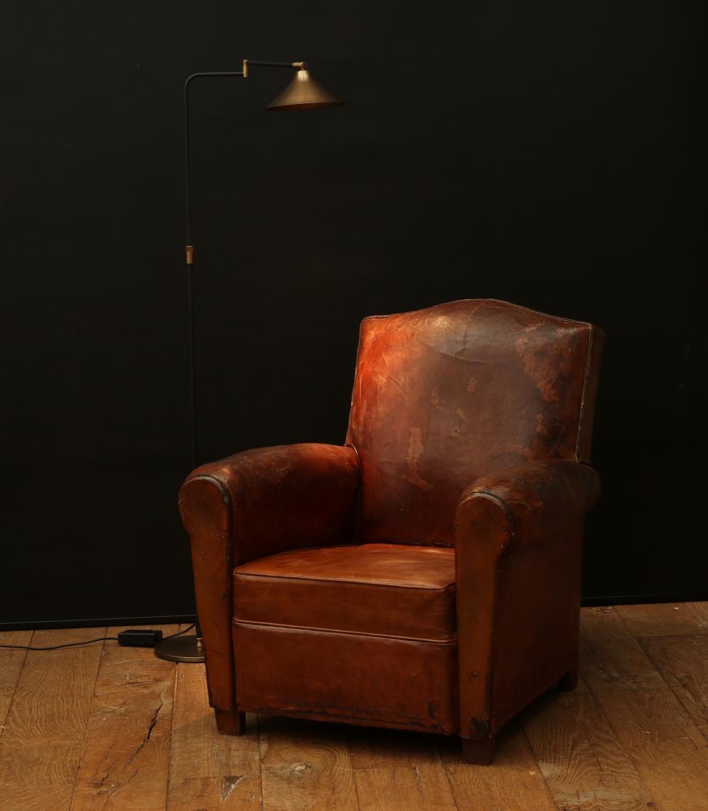French Club Chair #48 - 1920u0027s French Club Chair