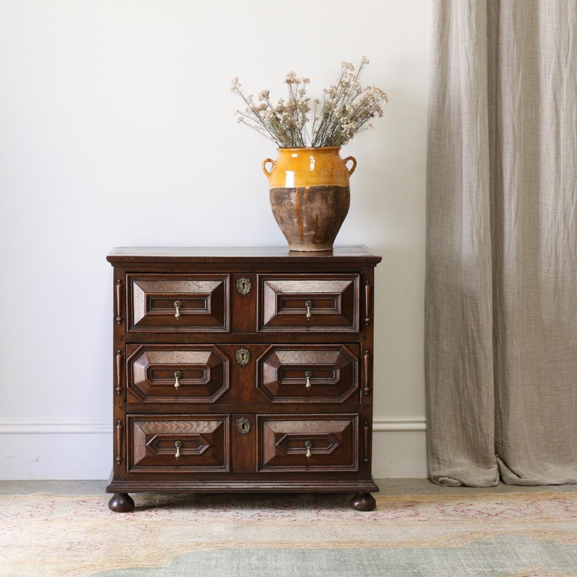 English Jacobean Chest
