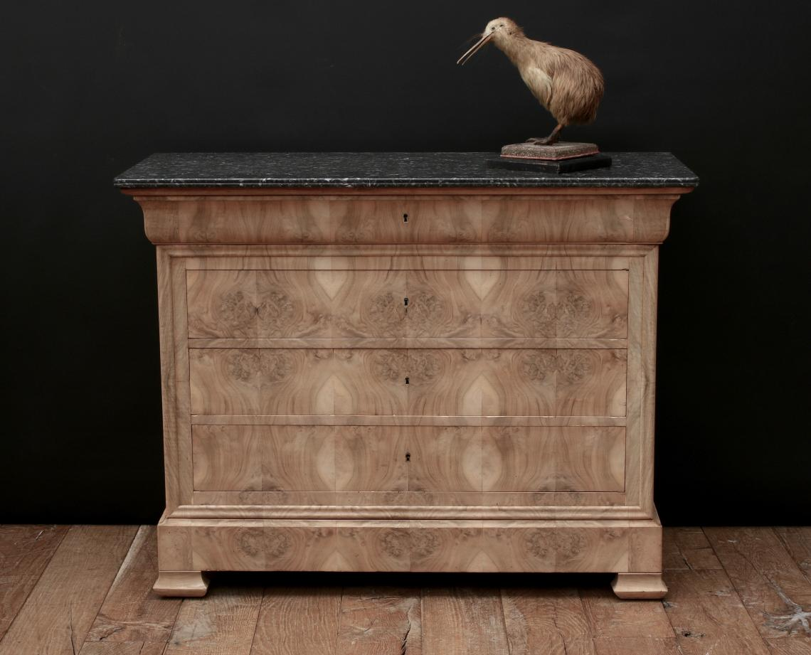103-12 - Bleached Louis Philippe Commode