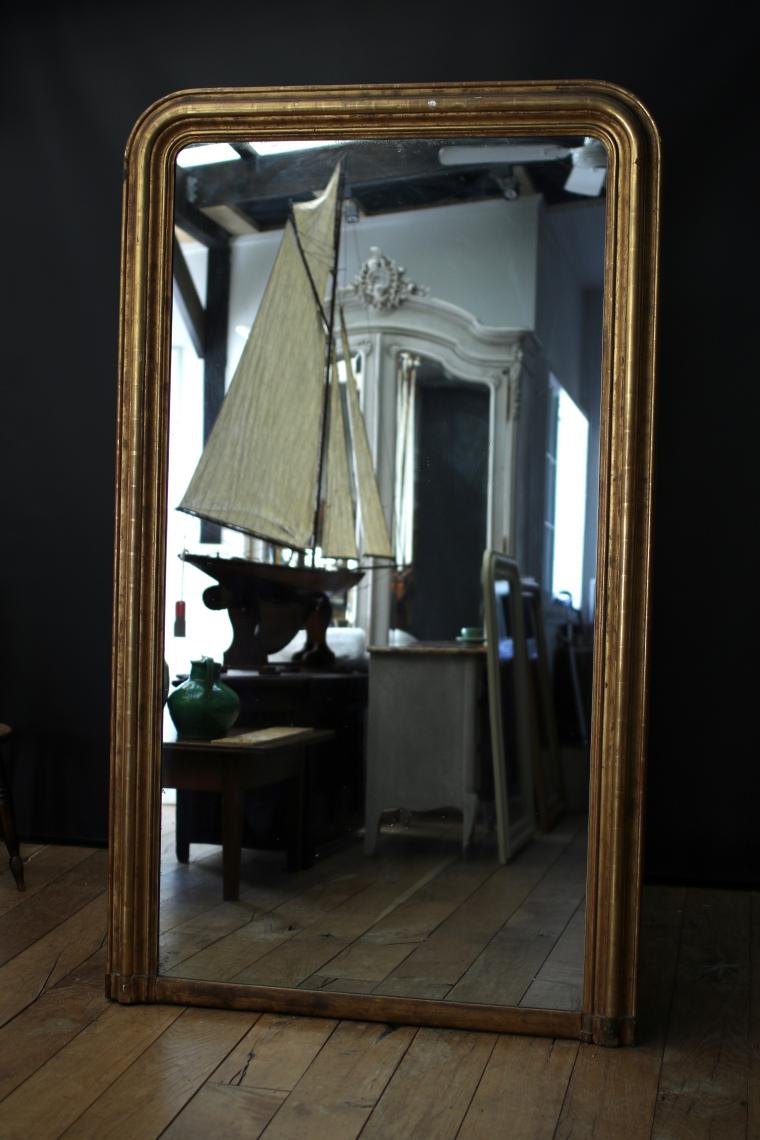 Very Large Louis Philippe Mirror