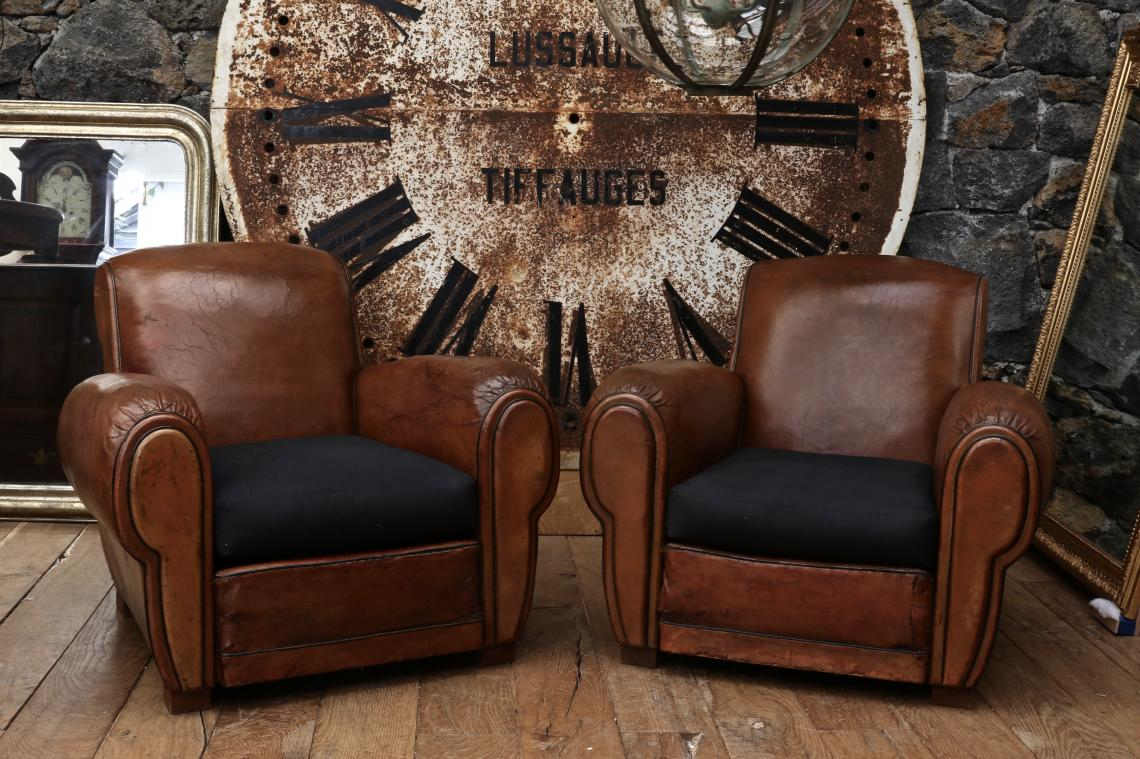 The Most Fabulous Pair of Club Chairs