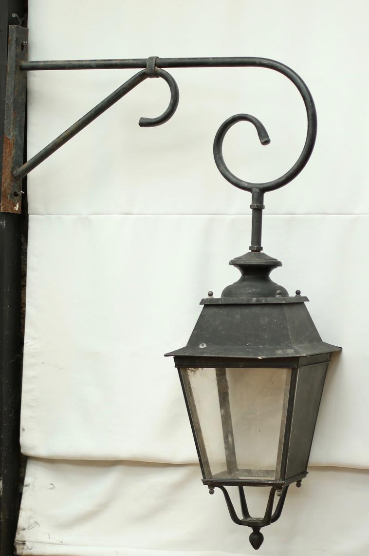 Old Outdoor French Street lights