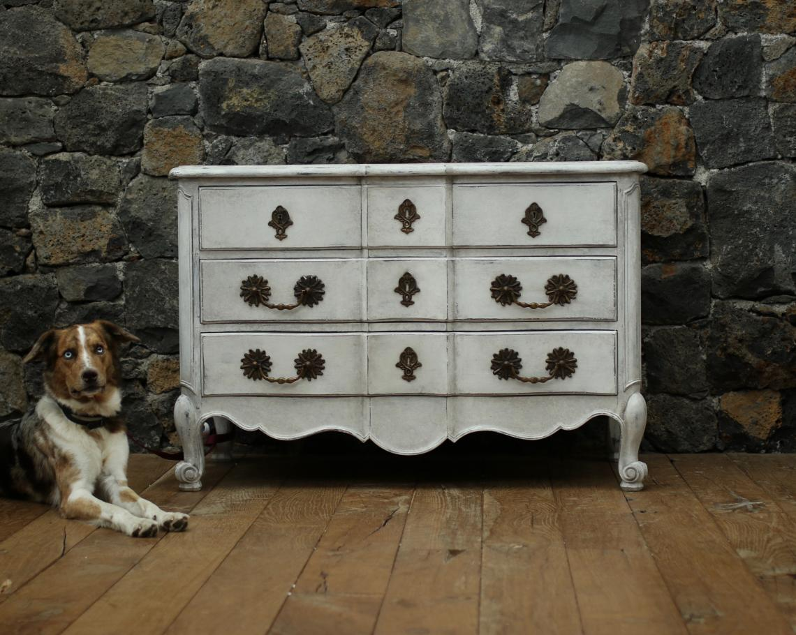 103-65 - Painted Swedish Commode