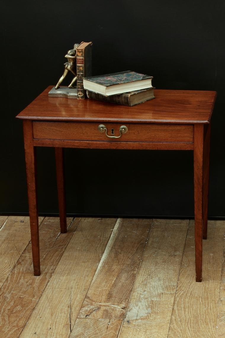 103-46 - One Drawer Georgian Side Table