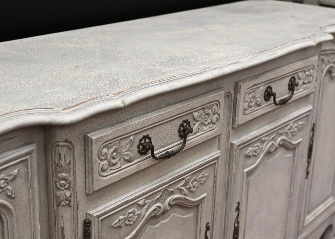 Painted French Dresser Base