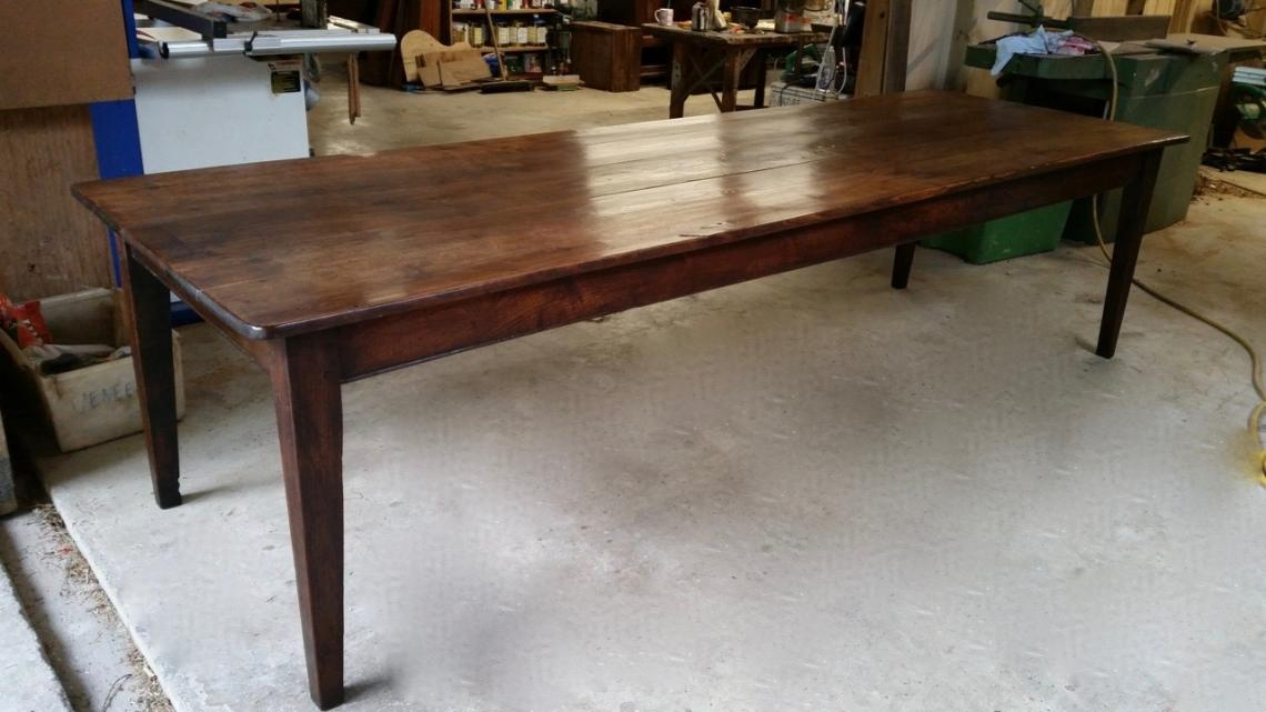 John stephens stunning french provincial dining table for Table 3m