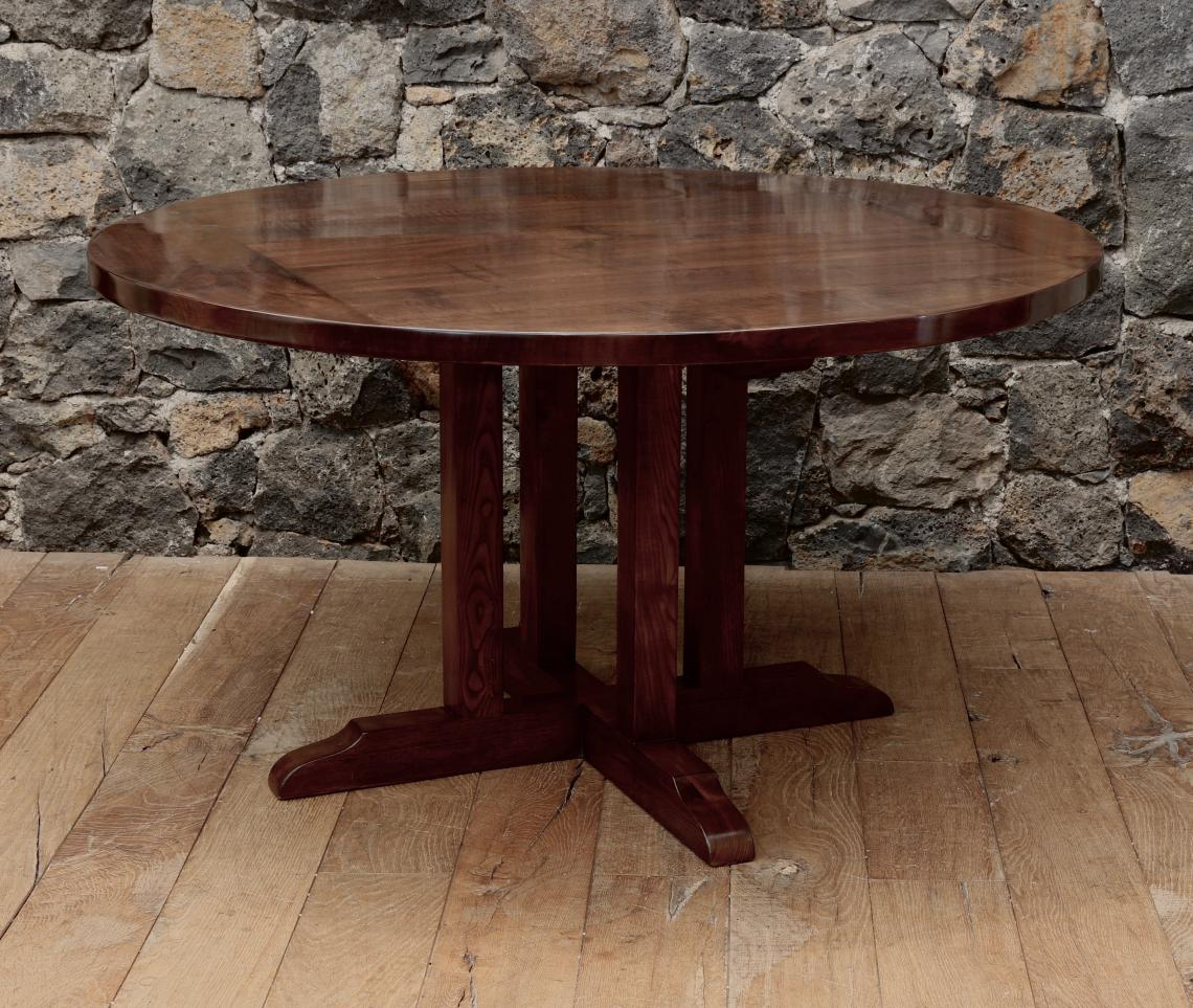 Recently Commissioned Walnut Refectory Style Table