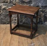 106-18 - Georgian Oak Jointed Stool