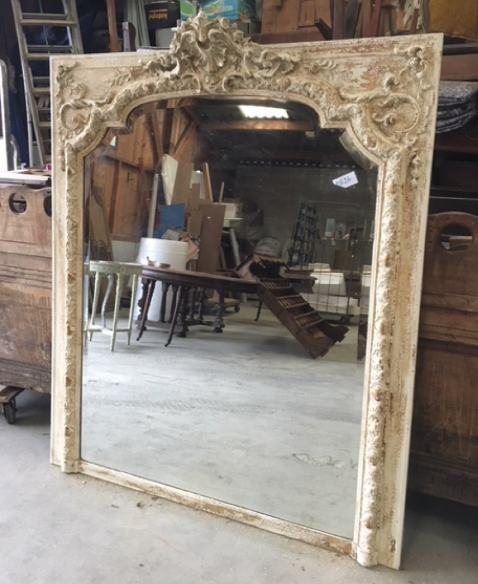 Outstanding French Trumeau Mirror