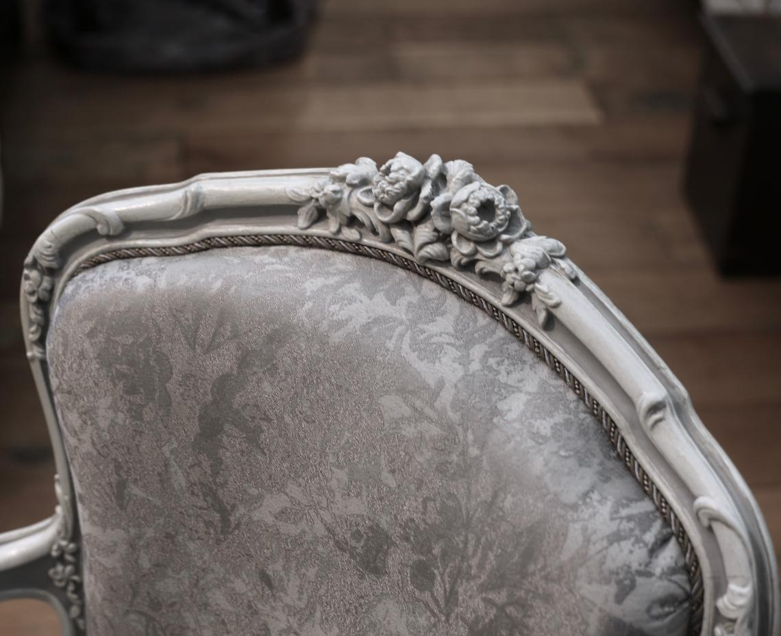 Louis XV Chair ready to go!