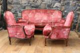 101-14 - Louis XV Style Sofa and Chairs