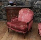 Louis XV-Style Sofa and Chairs