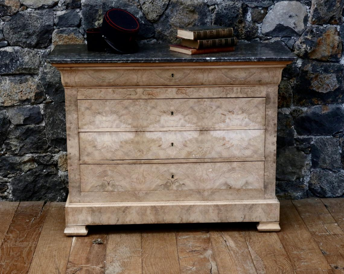 105-12 - Bleached Louis Philippe Commode