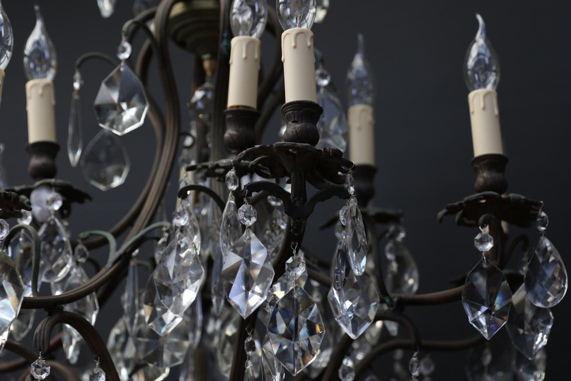 Large 20 Light Chandelier
