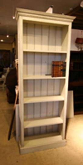 New Painted Bookcase