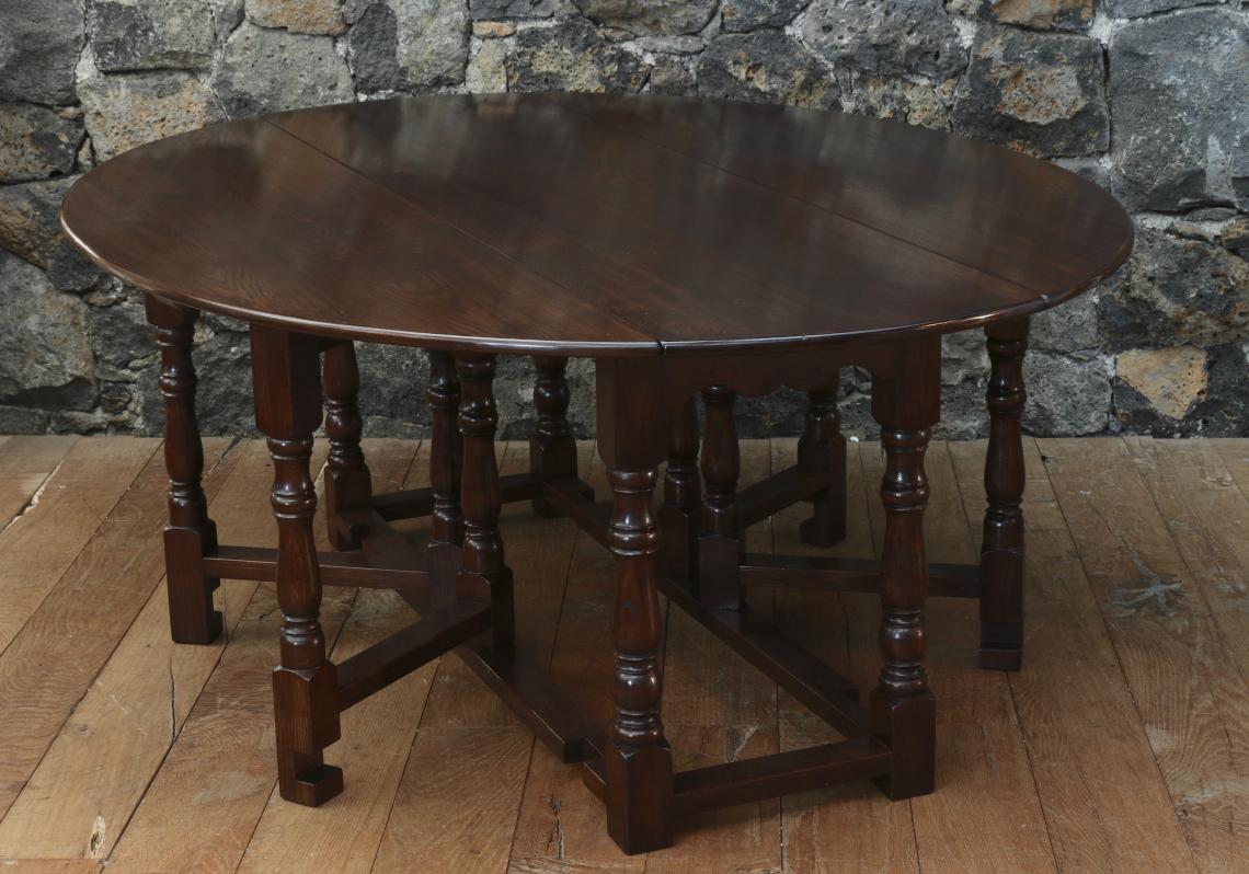 Gate-Leg Dining Table