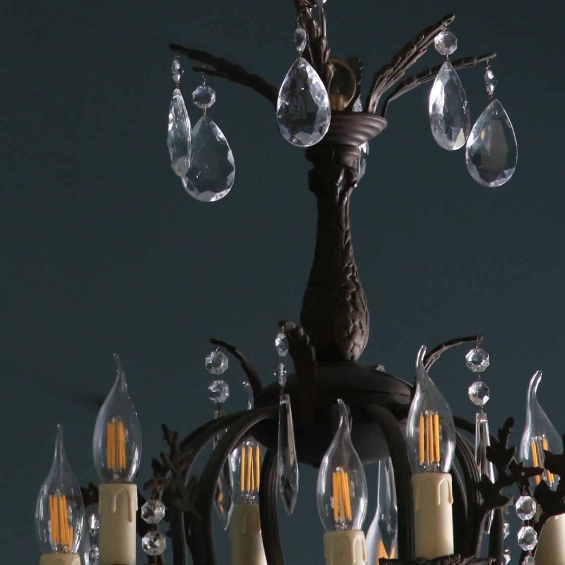 Twelve Light Chandelier