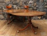 106-33 - Regency Period Two Leaf Dining Table