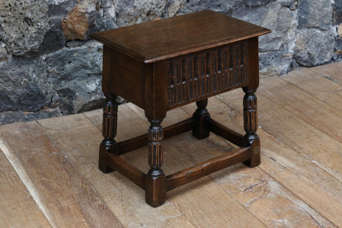 Jointed Stool with lid