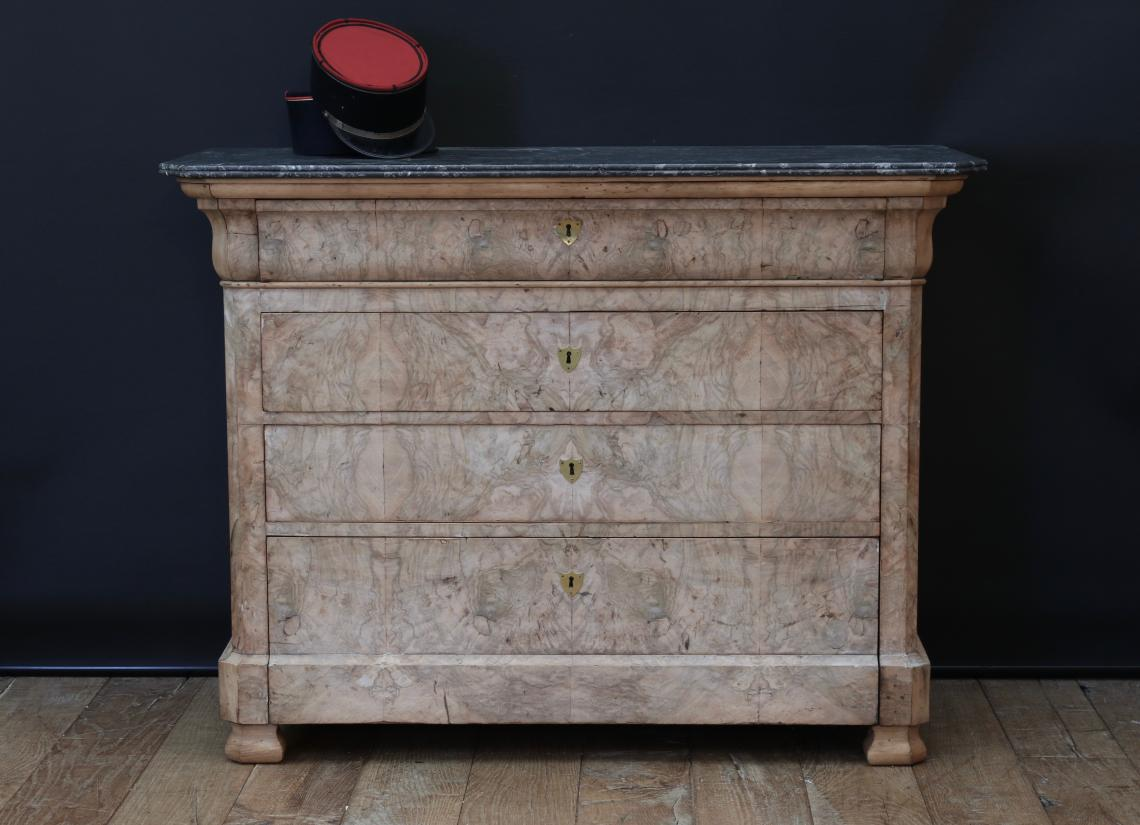 106-53 - Outstanding Bleached Louis XV Commode