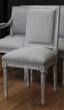 Louis XVI Style French Dining Chairs