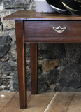 18th Century Chestnut Side Table or Breton Server