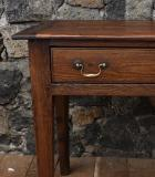Two Drawer Side Table or Breton Server