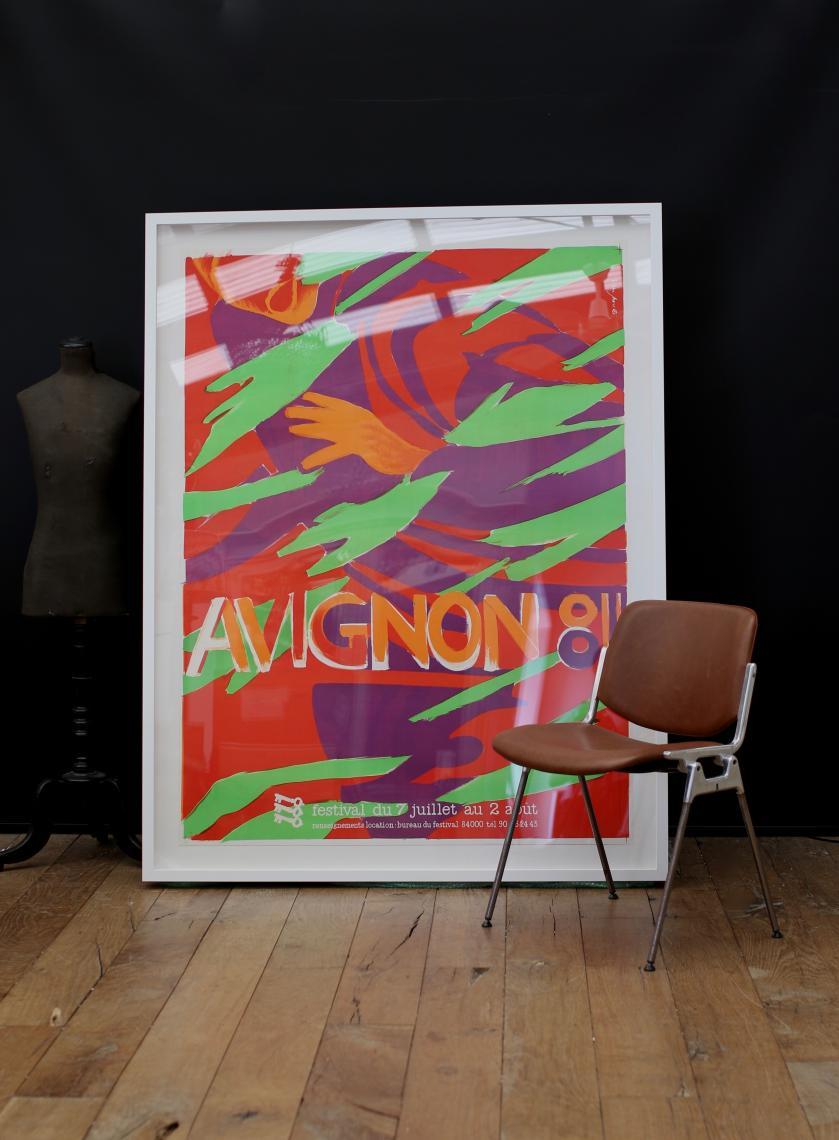 Vintage Poster - Avignon Festival 1981