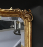 Large Louis Philippe Crested Mirror