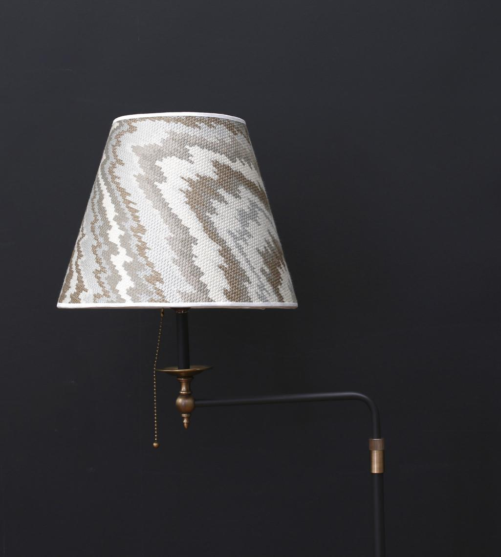 107-17 - French Floor Lamp with Shade