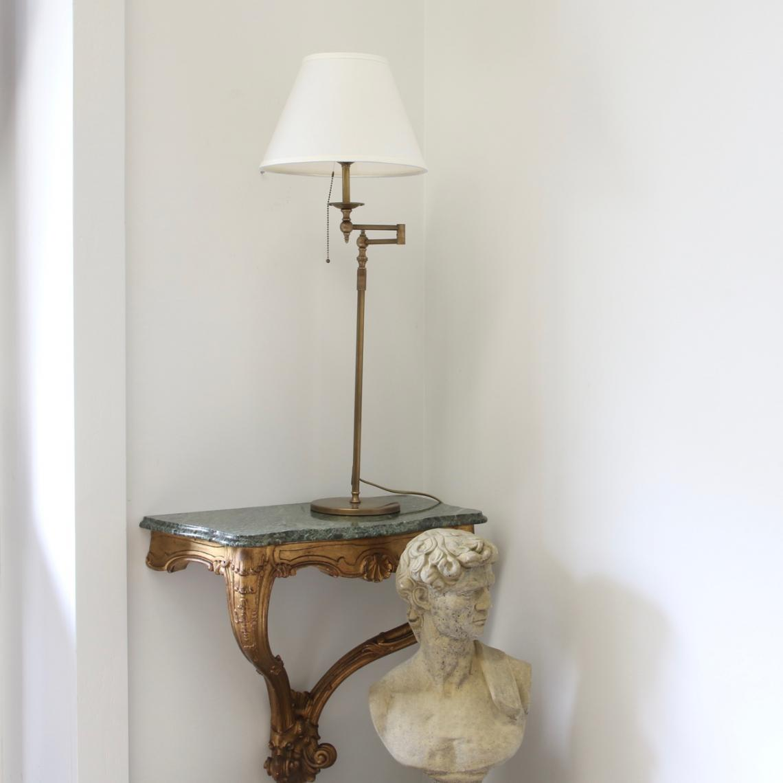 117-22 - French Brass Table Lamps