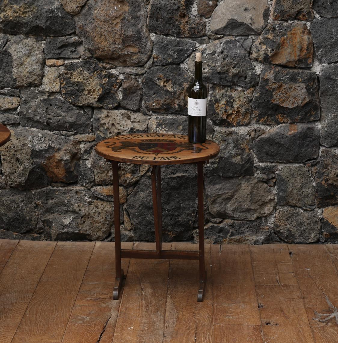 Chateauneuf du Pape Wine Table